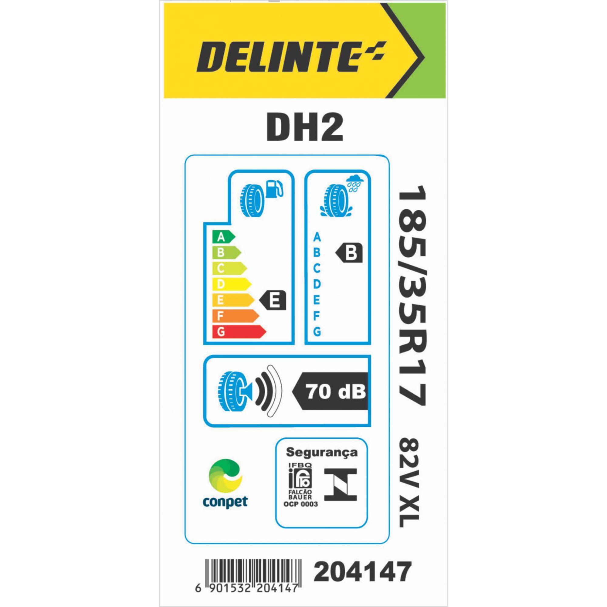 Pneu 185/35R17 Delinte DH2 82V