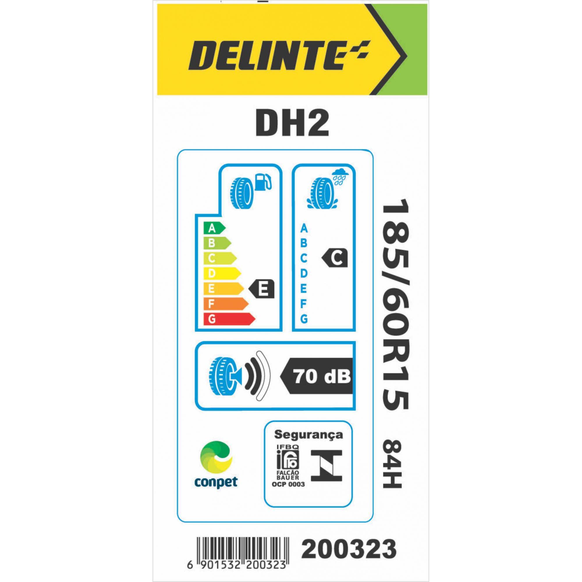 Pneu 185/60R15 Delinte DH2 84H