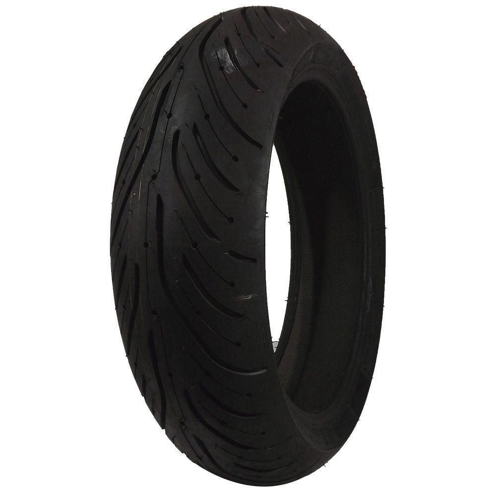 Pneu 190/55R17 Michelin Pilot Road 4 75W CBR 900 RR, YZF 1000 R1 Moto (Traseiro)