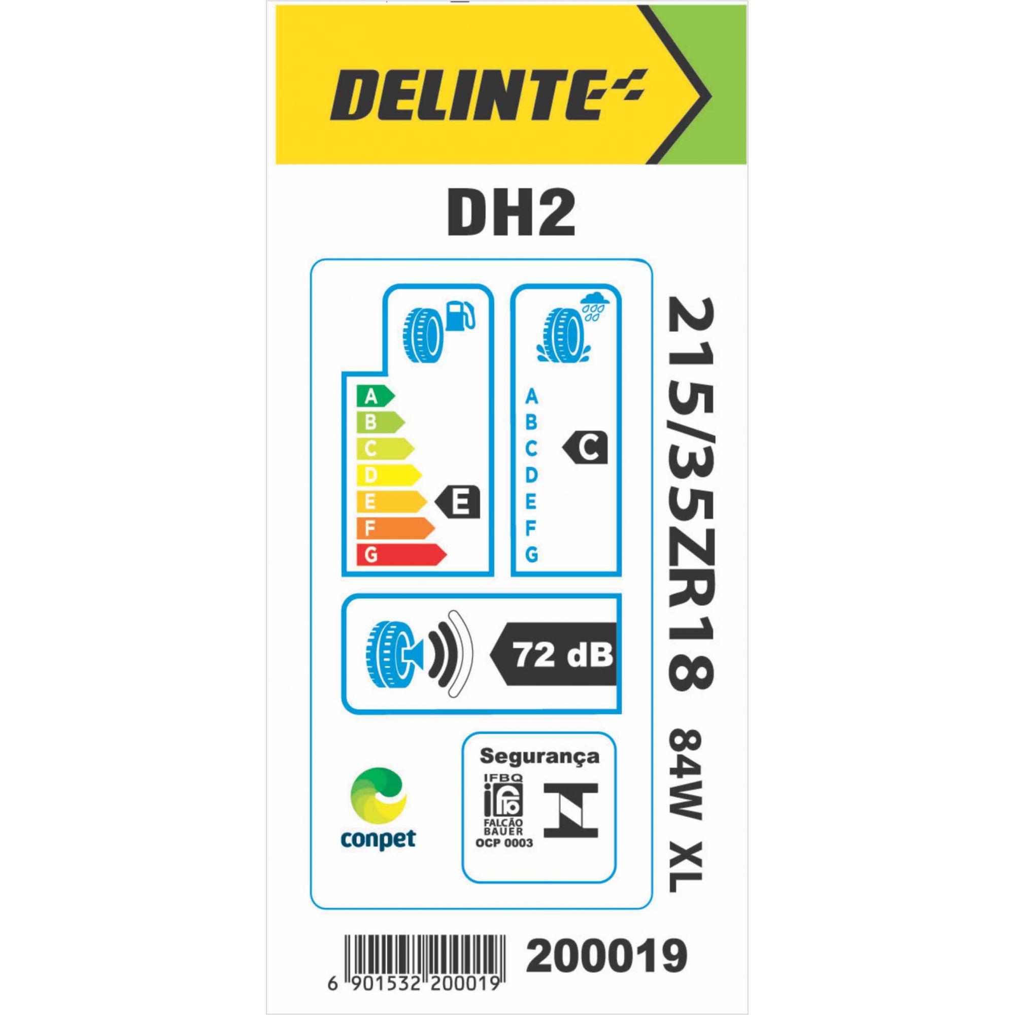 Pneu 215/35R18 Delinte DH2 84W
