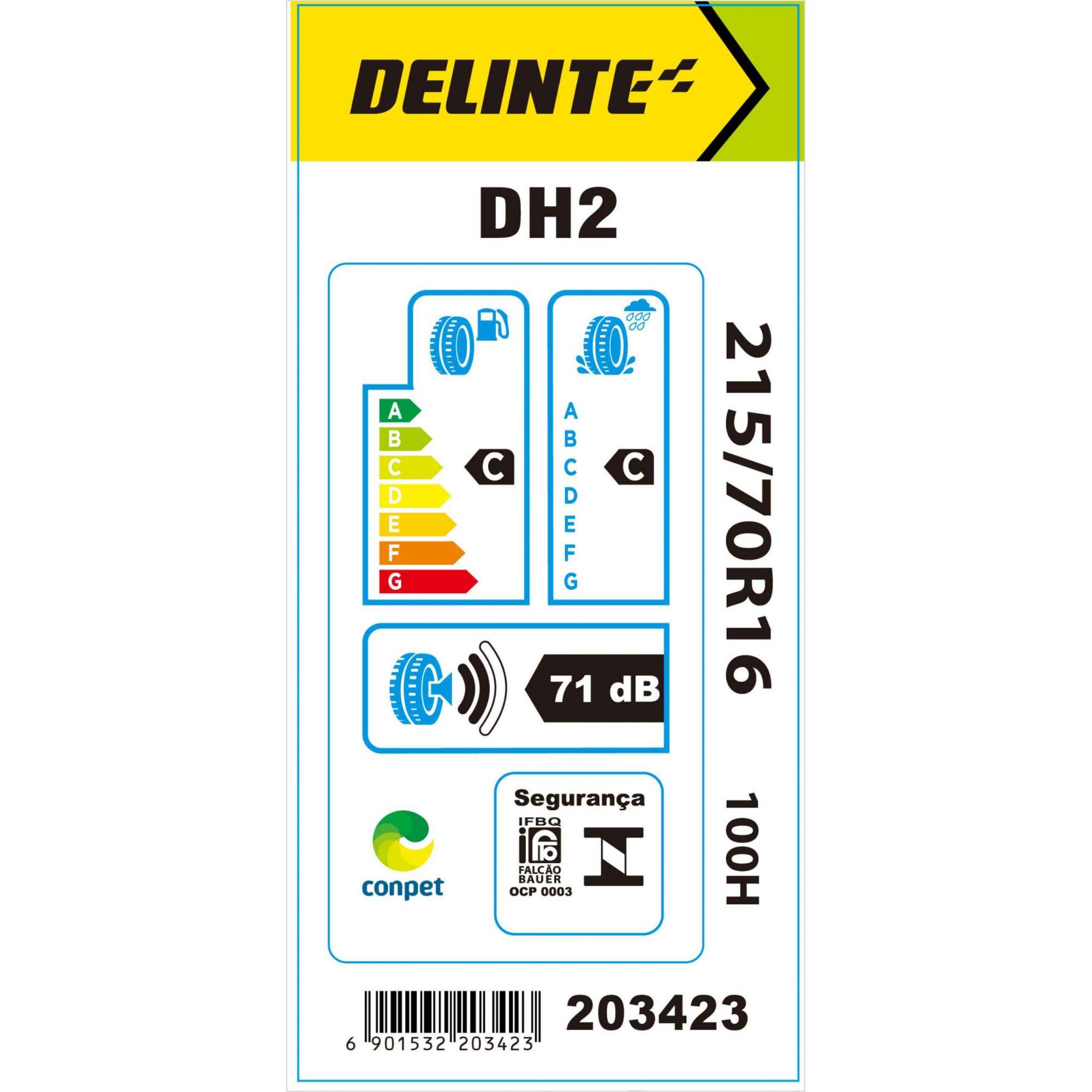 Pneu 215/70R16 Delinte DH2 100H