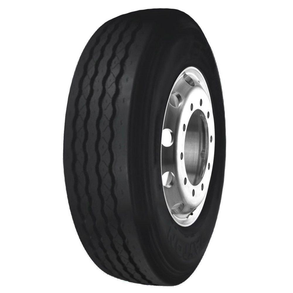 Pneu 215/75R17,5 Bridgestone Dayton D300 Liso 126/124L 12 Lonas (10,3mm)