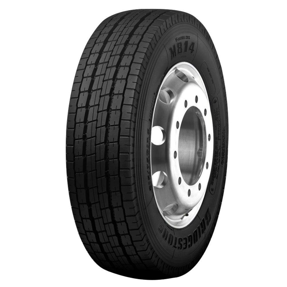 Pneu 215/75R17,5 Bridgestone M814 Liso 16 Lonas 126/124M