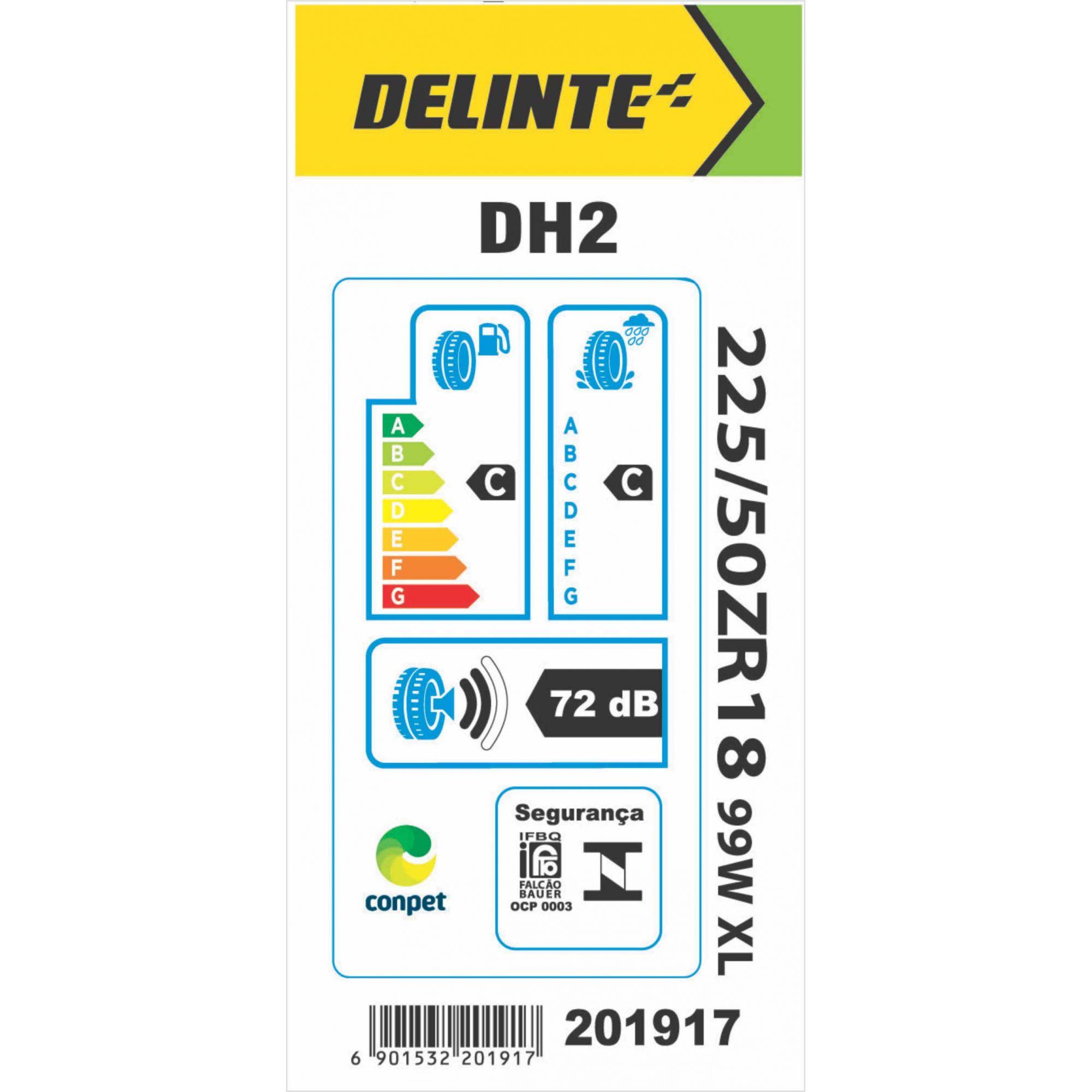 Pneu 225/50R18 Delinte DH2 99W