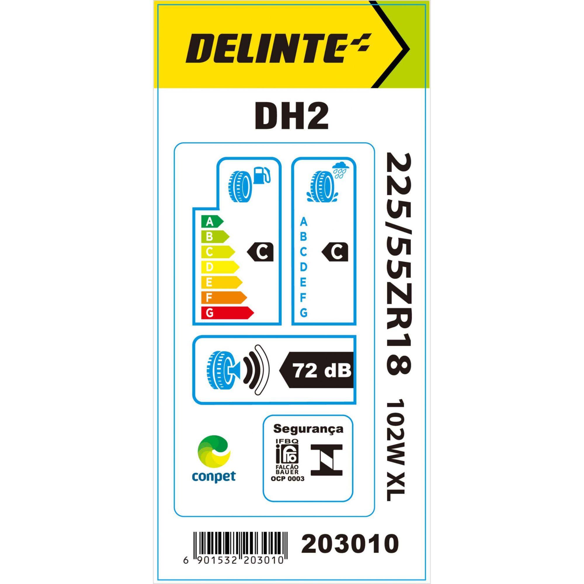 Pneu 225/55R18 Delinte DH2 102W
