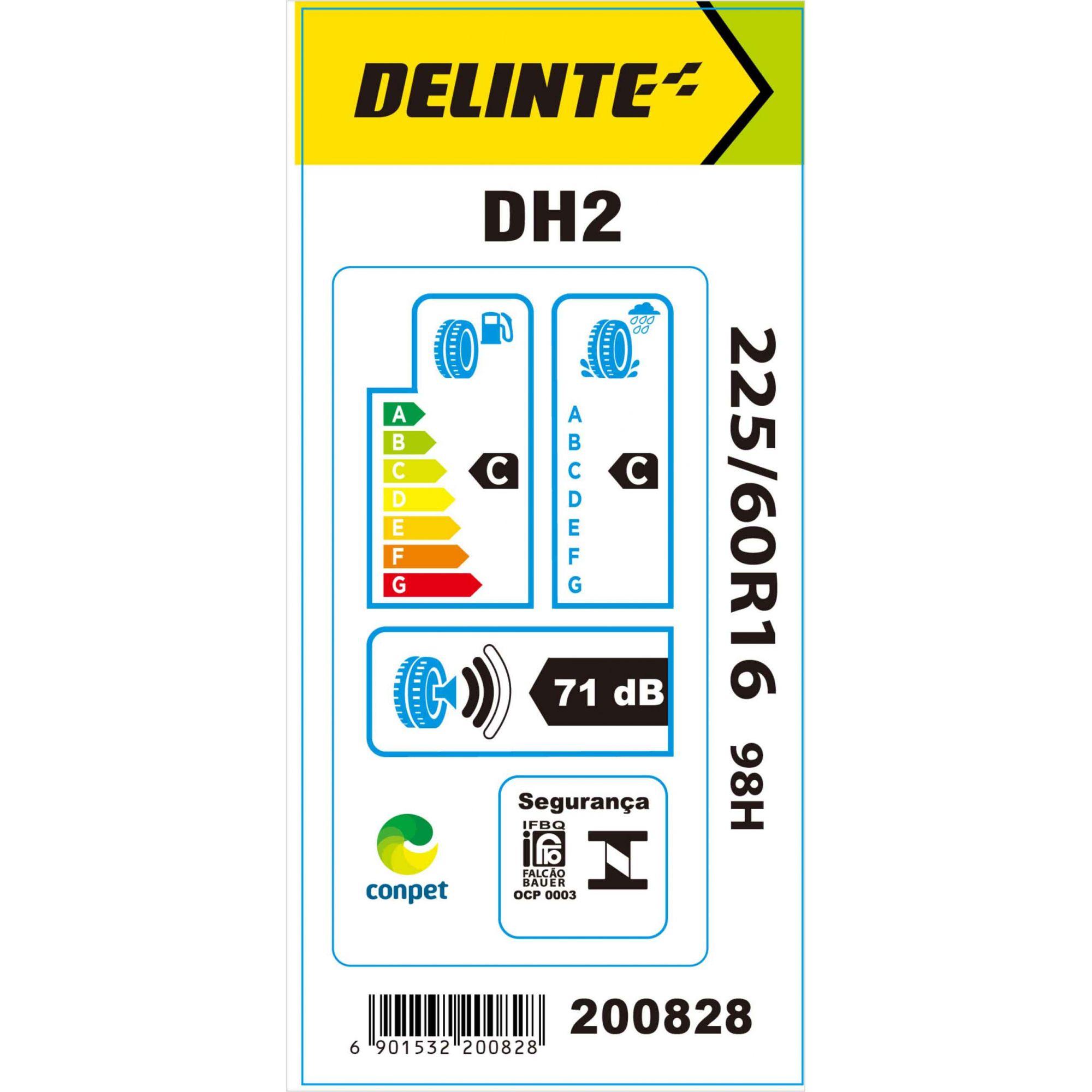 Pneu 225/60R16 Delinte DH2 98H