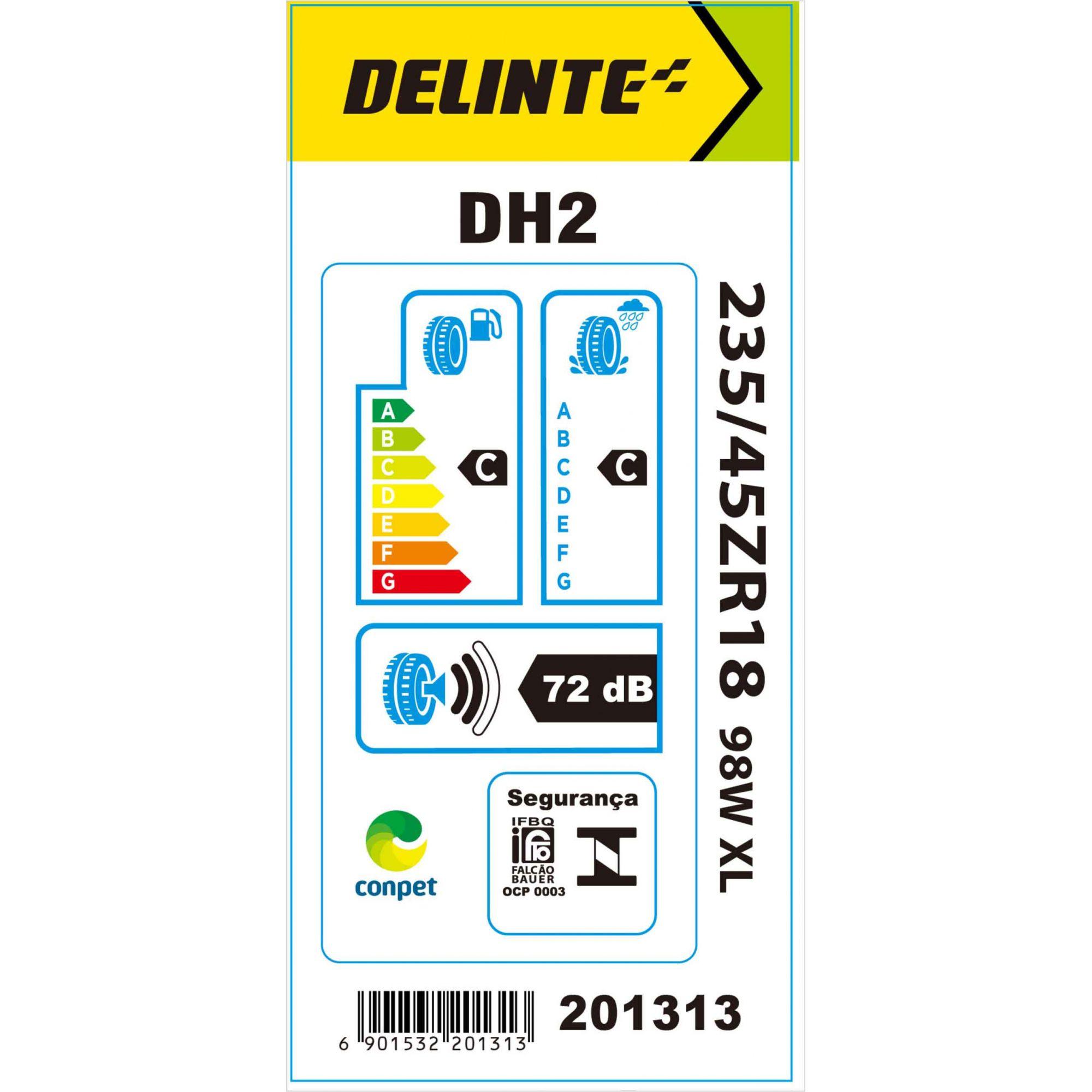 Pneu 235/45R18 Delinte DH2 98W