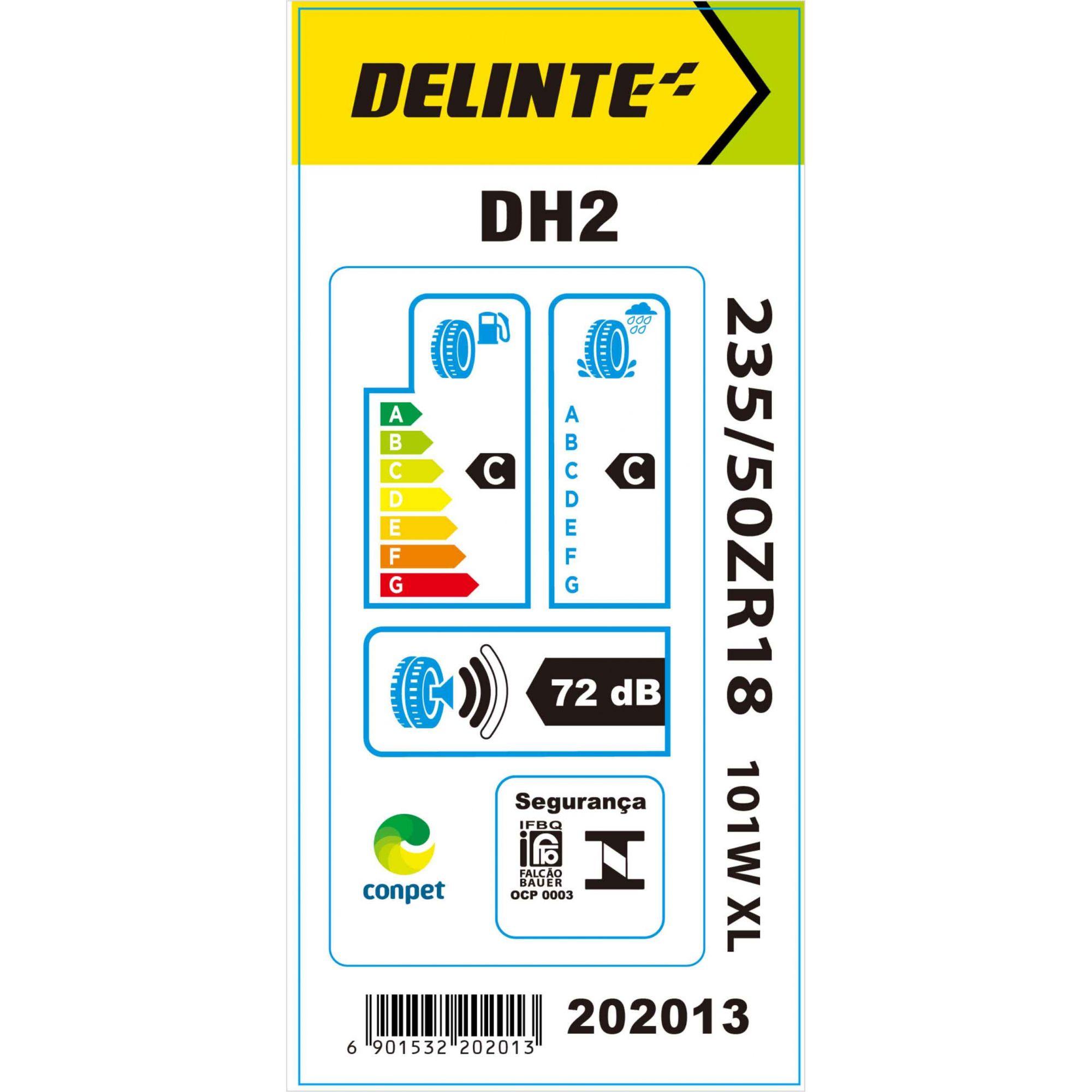 Pneu 235/50R18 Delinte DH2 101W