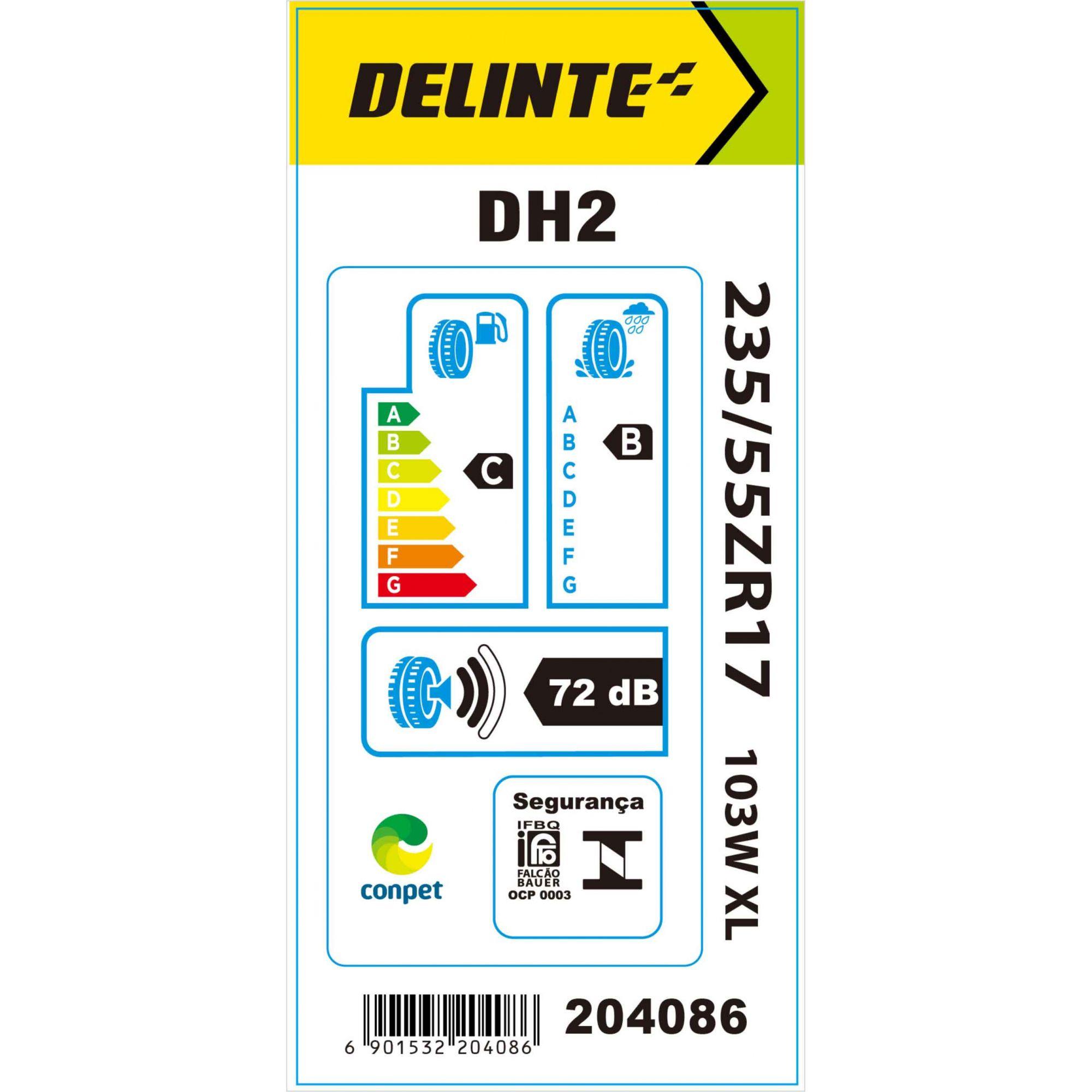 Pneu 235/55R17 Delinte DH2 103W