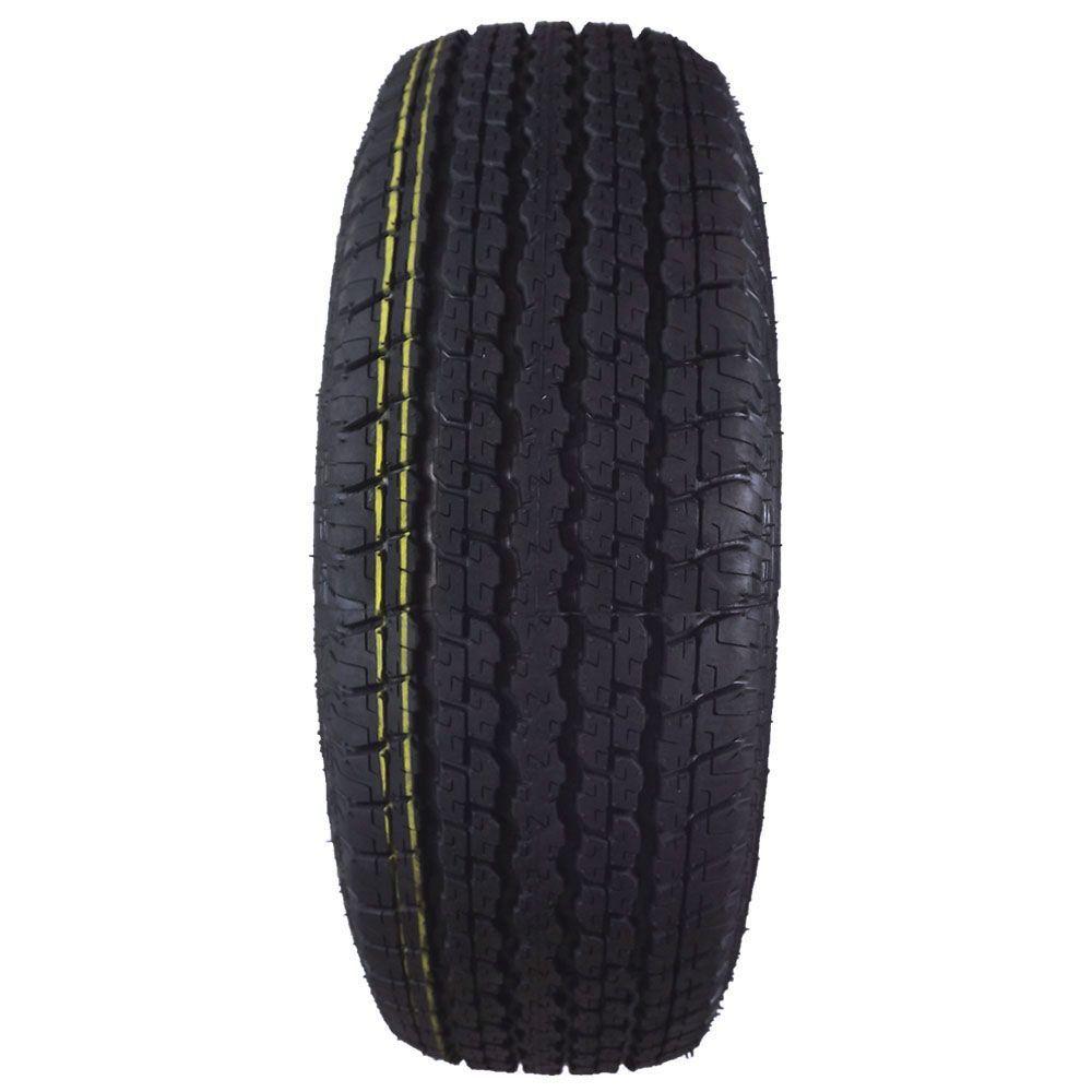 Pneu 265/65R17 Remold Black Tyre 110R (Desenho Bridgestone Dueler H/T 840) - Inmetro (Somente 1 Unidade Disponível)