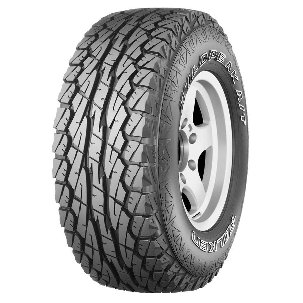 Pneu 265/75R16 Dunlop Falken Wildpeak WPAT01 A/T 123Q (Letra Branca)