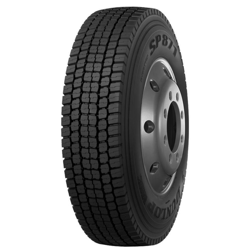 Pneu 275/80R22,5 Dunlop SP871 149/146L  Borrachudo 16 Lonas