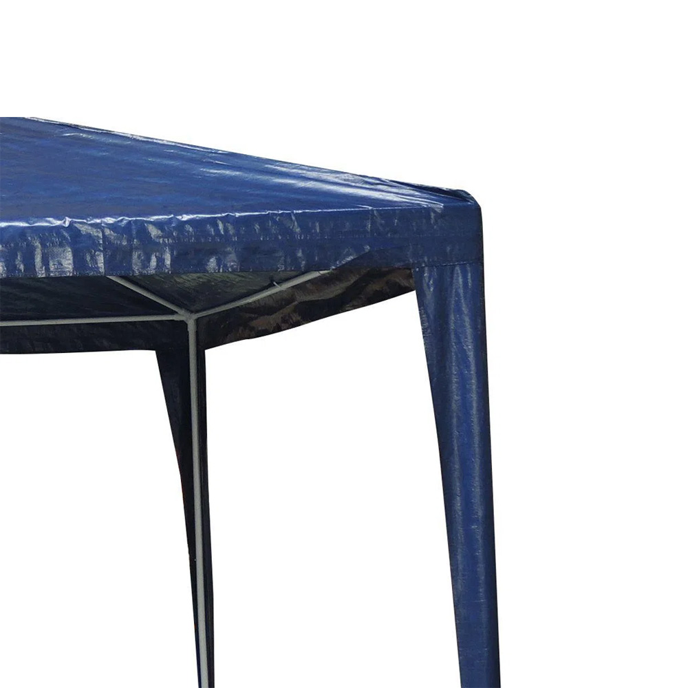 Tenda Gazebo 2,4x2,4m Montável Importway Azul IWGZM240AZ