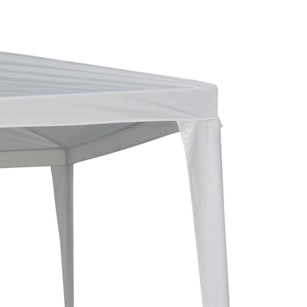 Tenda Gazebo 2,4x2,4m Montável Importway Branco IWGZM240BR