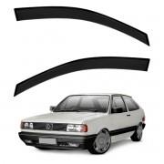 Calha de Chuva Defletor Fumê Gol Voyage Parati Saveiro Quadrado 1987 até 1994 2 Portas