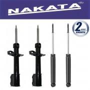 Jogo 04 Amortecedores Nakata Agile 2009 Até 2011