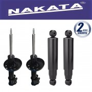 Jogo 04 Amortecedores Nakata Astra Hatch e Sedan 1999 até 2012