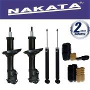 Jogo 04 Amortecedores Nakata Audi A3 1996 Até 2006 Golf 1998 Até 2010 Bora 2000 Até 2010 New Beetle 1998 Até 2005 + Kit da Suspensão