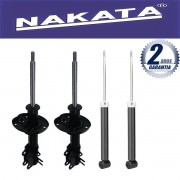 Jogo 04 Amortecedores Nakata Chevrolet Spin 2012 Até 2015