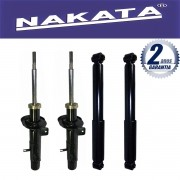 Jogo 04 Amortecedores Nakata Citroen C3 2003 Até 2012