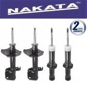 Jogo 04 Amortecedores Nakata Corolla 2008 Até 2011