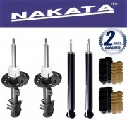 Jogo 04 Amortecedores Nakata Cross Fox 2003 Até 2012 + Kit da Suspensão