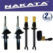 Jogo 04 Amortecedores Nakata Fiesta Nacional 1996 Até 2002 Fiesta Street 2002 Até 2005 + Kit da Suspensão