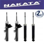Jogo 04 Amortecedores Nakata Focus 2009 Até 2013