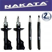 Jogo 04 Amortecedores Nakata New Civic 2006 Até 2011