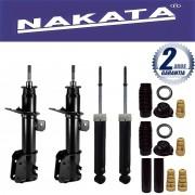 Jogo 04 Amortecedores Nakata Stilo 1.8 2002 Até 2012 + Kit da Suspensão