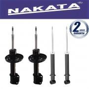 Jogo 04 Amortecedores Nakata Vectra 1998 Até 2005