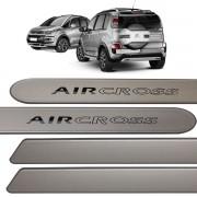 Jogo Friso Lateral AirCross Cinza Aluminium 2013 até 2016