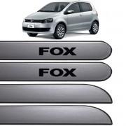 Jogo Friso Lateral Fox 04 Portas 2003 até 2016 Prata Sargas