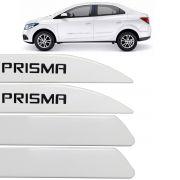 Jogo Friso Lateral Prisma 2013 Até 2017 Branco Summit