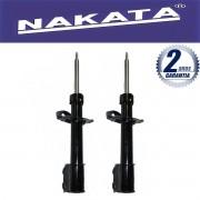 Par de Amortecedores Dianteiro Nakata Agile 2009 Até 2011