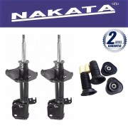 Par de Amortecedores Dianteiro Nakata Corolla 2008 Até 2013 + Kit da Suspensão