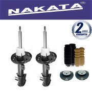 Par de Amortecedores Dianteiro Nakata Cross Fox 2004 Até 2012 + Kit da Suspensão