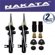 Par de Amortecedores Dianteiro Nakata Ecosport 4x2 2003 Até 2012 + Kit da Suspensão