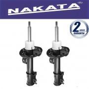 Par de Amortecedores Dianteiro Nakata Fiat Linea 2008 Até 2014