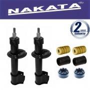 Par de Amortecedores Dianteiro Nakata Fiat Uno Elba Premio 1993 Até 2003  + Kit da suspensão