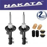 Par de Amortecedores Dianteiro Nakata Honda Fit 2003 Até 2008 + Kit de Suspensão