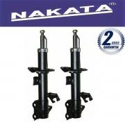 Par de Amortecedores Dianteiro Nakata Nissan Grand Livina 2009 Até 2015