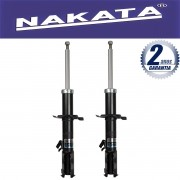 Par de Amortecedores Dianteiro Nakata Nissan March 2011 Até 2015