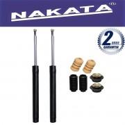 Par de Amortecedores Dianteiro Nakata Santana 1997 Até 2006 + Kit da Suspensão