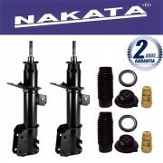 Par de Amortecedores Dianteiro Nakata Stilo 1.8 2002 Até 2012 + Kit da suspensão