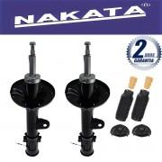 Par de Amortecedores Dianteiro Nakata Tucson 2006 Até 2014 Sportage 2006 Até 2010 + Kit da suspensão