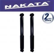 Par de Amortecedores Traseiro Nakata Citroen C3 2003 Até 2012