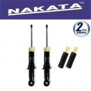 Par de Amortecedores Traseiro Nakata Corolla e Fielder 2002 Até 2008 + Kit da Suspensão