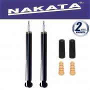 Par de Amortecedores Traseiro Nakata Cross Fox 2005 Até 2012 + Kit da Suspensão