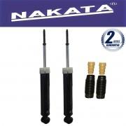 Par de Amortecedores Traseiro Nakata Fiat Linea (Execeto T-jet) 2008 Até 2014 + Kit da Suspensão